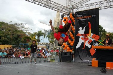 orange dance bboy battle