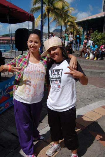 danseurs au caudan hiphop