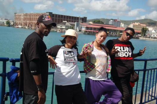 les jurys hiphop au caudan ile maurice