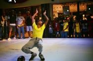 un jeune mauricien danseurs hiphop