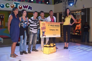 champion mauricien de culture de danse hiphop