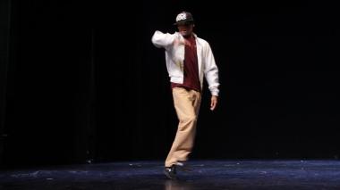 Danseur hip-hop debout mauricien. Street dancing ile maurice