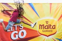 Street Dancer in Mauritius Malta Guinness