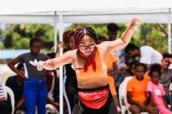 girl dance in mauritius