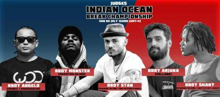 Judges for the Indian Ocean Breaking Championship